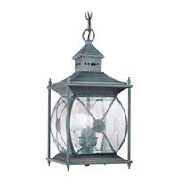 Livex 2095-61 Providence 2 Light 8 inch Charcoal Outdoor Hanging Lantern photo thumbnail