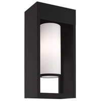 Livex 20983-04 Bleecker 1 Light 17 inch Black Wall Lantern