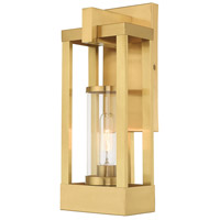 Delancey 1 Light 16 inch Satin Brass Wall Lantern