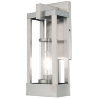 Delancey 1 Light 16 inch Brushed Nickel Wall Lantern