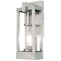 Livex 20992-91 Delancey 1 Light 16 inch Brushed Nickel Wall Lantern