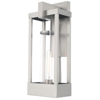 Livex 20993-91 Delancey 1 Light 20 inch Brushed Nickel Wall Lantern