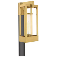 Livex 20996-12 Delancey 1 Light 19 inch Satin Brass Post Top Lantern