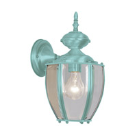 Livex Limited 1 Light Outdoor Wall Lantern in Verdigris 2110-06
