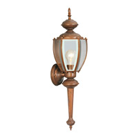 Livex Limited 1 Light Outdoor Wall Lantern in Weathered Brick 2112-18