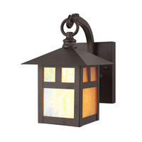 Livex 2130-07 Montclair Mission 1 Light 9 inch Bronze Outdoor Wall Lantern