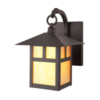 Montclair Mission 1 Light 11 inch Bronze Outdoor Wall Lantern