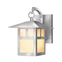 Livex Montclair Mission 1 Light Outdoor Wall Lantern in Brushed Nickel 2131-91