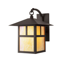 Montclair Mission 1 Light 14 inch Bronze Outdoor Wall Lantern
