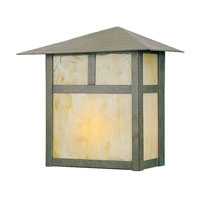 Livex Lighting Montclair Mission 1 Light Outdoor Wall Lantern in Verde Patina 2136-16 photo thumbnail