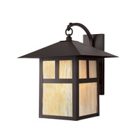 Montclair Mission 1 Light 17 inch Bronze Outdoor Wall Lantern