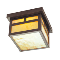 Livex Lighting Montclair Mission 1 Light Outdoor Ceiling Mount in Bronze 2138-07
