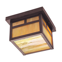 Livex Lighting Montclair Mission 2 Light Outdoor Ceiling Mount in Bronze 2139-07