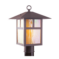 Livex 2140-07 Montclair Mission 1 Light 18 inch Bronze Outdoor Post Head