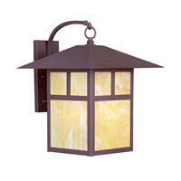 Livex 2143-07 Montclair Mission 1 Light 21 inch Bronze Outdoor Wall Lantern