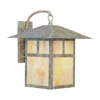 Montclair Mission 1 Light 21 inch Verde Patina Outdoor Wall Lantern