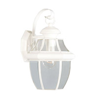 Livex Lighting Monterey 1 Light Outdoor Wall Lantern in White 2151-03