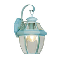 Monterey 1 Light 13 inch Verdigris Outdoor Wall Lantern