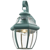 Livex 2151-06 Monterey 1 Light 13 inch Verdigris Outdoor Wall Lantern