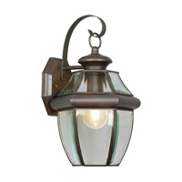 Livex 2151-07 Monterey 1 Light 13 inch Bronze Outdoor Wall Lantern