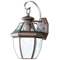 Livex Lighting Monterey 1 Light Outdoor Wall Lantern in Imperial Bronze 2151-58