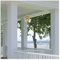 Livex 2152-02 Monterey 1 Light 9 inch Polished Brass Outdoor Hanging Lantern alternative photo thumbnail