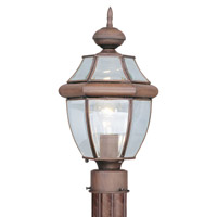 Livex Lighting Monterey 1 Light Outdoor Post Head in Imperial Bronze 2153-58