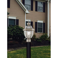 Livex 2153-91 Monterey 1 Light 16 inch Brushed Nickel Outdoor Post Head alternative photo thumbnail