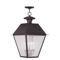 Livex 2174-07 Mansfield 4 Light 15 inch Bronze Outdoor Hanging Lantern