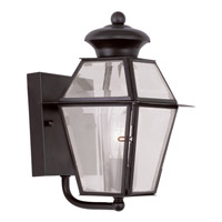 Livex Lighting Westover 1 Light Outdoor Wall Lantern in Bronze 2180-07