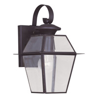 Livex Lighting Westover 1 Light Outdoor Wall Lantern in Bronze 2181-07