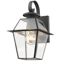 Westover 1 Light 13 inch Charcoal Wall Lantern