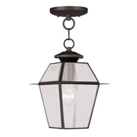 Livex Lighting Westover 1 Light Outdoor Hanging Lantern in Bronze 2183-07
