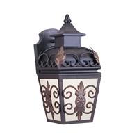 Livex 2191-07 Berkshire 1 Light 14 inch Bronze Outdoor Wall Lantern