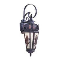 Livex Lighting Berkshire 1 Light Outdoor Wall Lantern in Bronze 2192-07 photo thumbnail