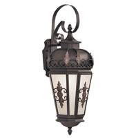 Livex Lighting Berkshire 1 Light Outdoor Wall Lantern in Bronze 2193-07