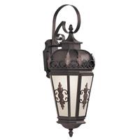 Livex 2193-07 Berkshire 1 Light 30 inch Bronze Outdoor Wall Lantern