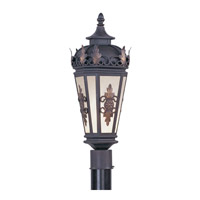 Livex 2194-07 Berkshire 1 Light 22 inch Bronze Outdoor Post Head