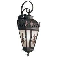 Livex Lighting Berkshire 3 Light Outdoor Wall Lantern in Bronze 2196-07
