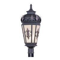 Livex 2198-07 Berkshire 1 Light 26 inch Bronze Outdoor Post Head