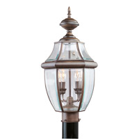 Livex Lighting Monterey 2 Light Outdoor Post Head in Imperial Bronze 2254-58