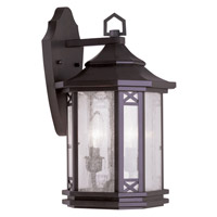 Livex Lighting Tahoe 2 Light Outdoor Wall Lantern in Bronze 2312-07