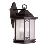 Livex Lighting Tahoe 3 Light Outdoor Wall Lantern in Bronze 2313-07