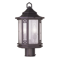 Livex Lighting Tahoe 2 Light Outdoor Post Head in Bronze 2316-07