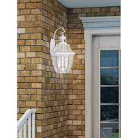 Livex 2351-03 Monterey 3 Light 23 inch White Outdoor Wall Lantern alternative photo thumbnail