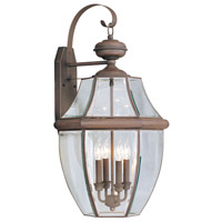 Livex Lighting Monterey 4 Light Outdoor Wall Lantern in Imperial Bronze 2356-58
