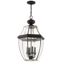 Livex 2357-04 Monterey 4 Light 16 inch Black Outdoor Hanging Lantern alternative photo thumbnail