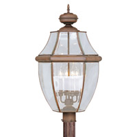 Livex Lighting Monterey 4 Light Outdoor Post Head in Imperial Bronze 2358-58