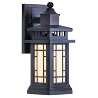 Mirror Lake 1 Light 17 inch Bronze Outdoor Wall Lantern