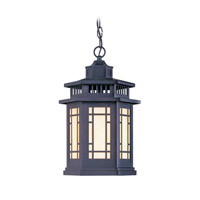 Livex Lighting Mirror Lake 1 Light Outdoor Hanging Lantern in Bronze 2395-07